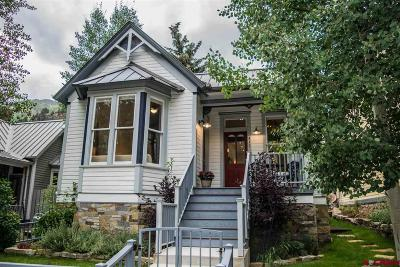 Telluride Single Family Home For Sale: 411 W Colorado Avenue