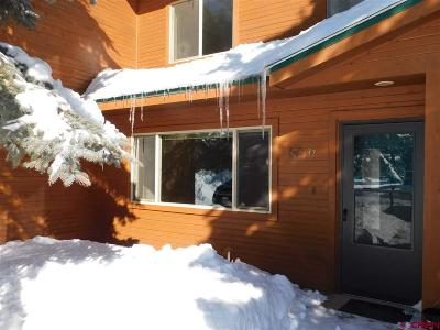 Pagosa Springs Condo/Townhouse For Sale: 302 Talisman Drive #37