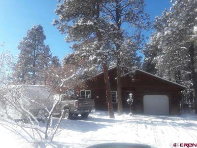 Pagosa Springs Single Family Home UC/Contingent/Call LB: 74 Inspiration Drive