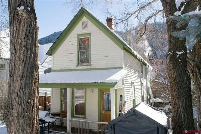 Telluride Single Family Home For Sale: 566 W Columbia Avenue
