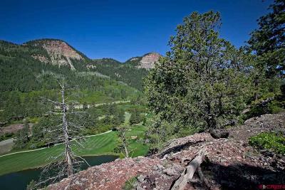 Durango Residential Lots & Land For Sale: 556 Glacier Cliff