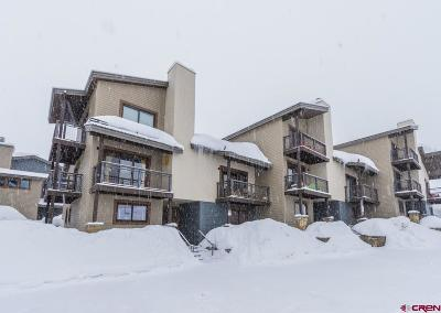 Mt. Crested Butte Condo/Townhouse For Sale: 11 Crested Mountain Lane #J5