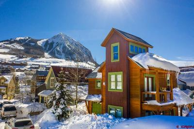 Mt. Crested Butte Single Family Home UC/Contingent/Call LB: 301 Horseshoe Drive