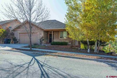 Durango Single Family Home For Sale: 37 Lizard Head Drive