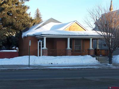 Gunnison Single Family Home For Sale: 312 N Main Street