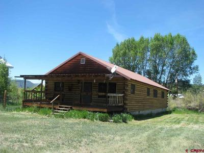 South Fork CO Single Family Home For Sale: $209,000