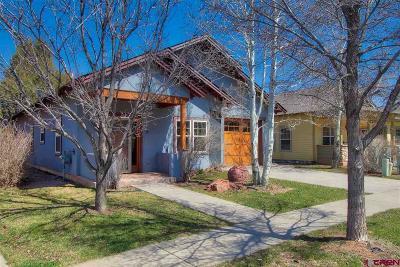 Durango Single Family Home For Sale: 19 E Animas Village Lane