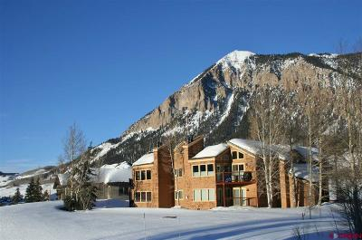 Crested Butte Condo/Townhouse For Sale: 251 Slate River Drive #9