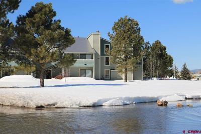 Pagosa Springs Condo/Townhouse NEW: 37 Valley View Drive #3132