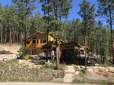 Durango Single Family Home For Sale: 681 Monarch Crest Trail