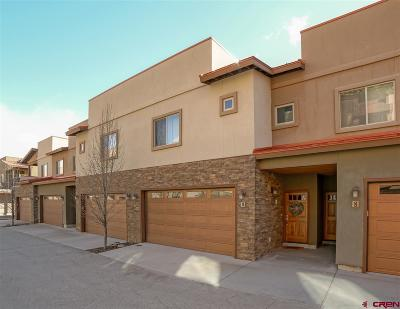 Durango Condo/Townhouse For Sale: 1422 Animas View Drive #9