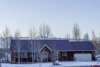 Gunnison Single Family Home For Sale: 198 Willow Trail