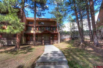 La Plata County Condo/Townhouse For Sale: 961 N Tamarron Drive #621