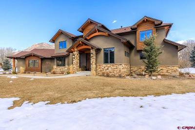 Durango Single Family Home NEW: 610 Red Rock