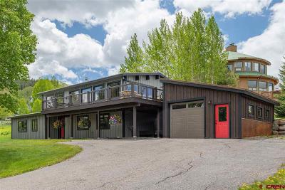Mt. Crested Butte Single Family Home For Sale: 44 Anthracite Drive