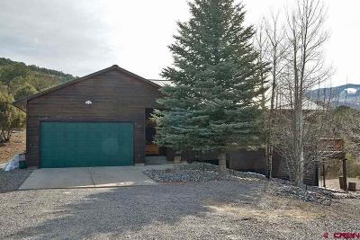 Ridgway Single Family Home For Sale: 650 Lands End Drive