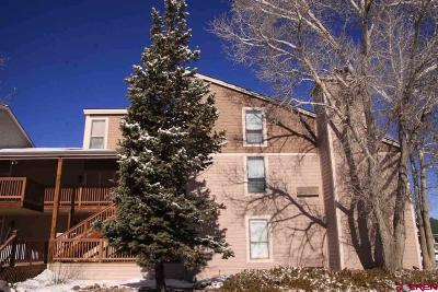 Pagosa Springs Condo/Townhouse For Sale: 89 Valley View Drive #3199 &am