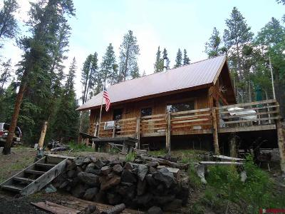 Gunnison Single Family Home For Sale: 240 American Mountain Road