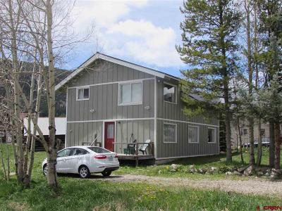 Crested Butte Single Family Home For Sale: 624 Maroon Avenue
