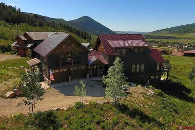 Crested Butte Single Family Home For Sale: 400 Cisneros Lane