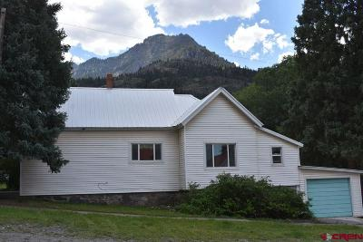 Ouray Single Family Home For Sale: 340 4th Street