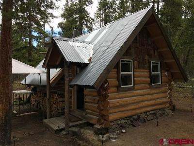 Gunnison Single Family Home For Sale: Forest Service Road 888 2b