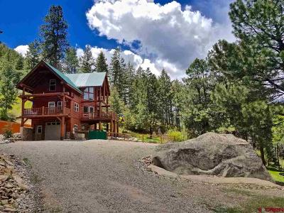 La Plata County Single Family Home For Sale: 2277 Bear Creek Canyon Road