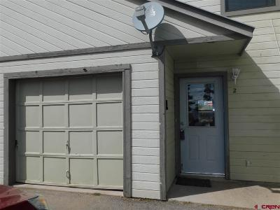 Pagosa Springs Condo/Townhouse UC/Contingent/Call LB: 21 W Golf Place #2