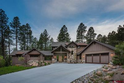La Plata County Single Family Home For Sale: 105 Monarch Crest Trail