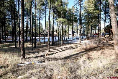 Durango Residential Lots & Land For Sale: 37 Big Bend Court