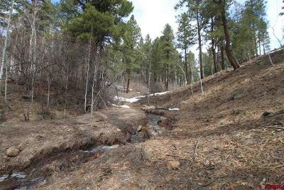 Durango Residential Lots & Land For Sale: Ridge Crest Drive