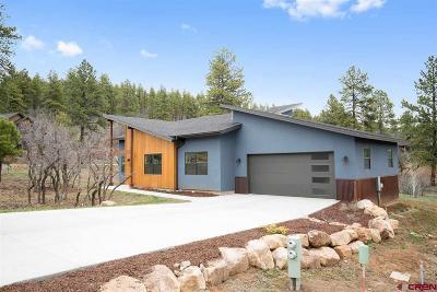 Durango Single Family Home UC/Contingent/Call LB: 17 Calico Trail
