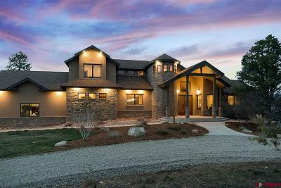 La Plata County Single Family Home For Sale: 268 Legacy Ranch Lane
