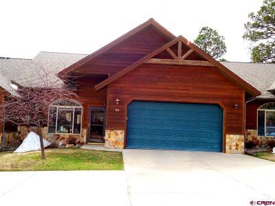 Pagosa Springs Condo/Townhouse For Sale: 1135 Park Avenue #704
