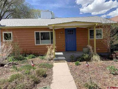 Paonia Single Family Home UC/Contingent/Call LB: 212 Box Elder Avenue