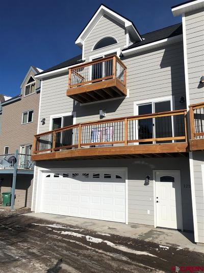 Ouray Condo/Townhouse NEW: 1237 Park Road