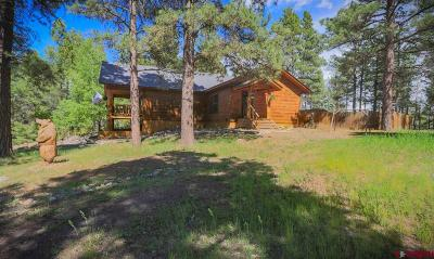 Pagosa Springs Single Family Home For Sale: 83 Heather Place