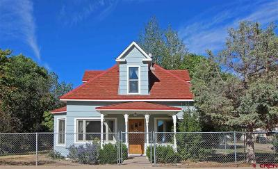 Dolores Single Family Home For Sale: 108 N 8th Street