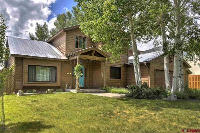 Durango CO Single Family Home For Sale: $797,500