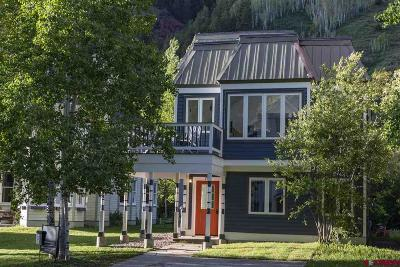 Telluride Single Family Home For Sale: 781 Prospect Avenue