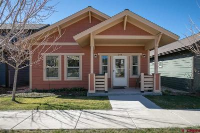 Durango CO Single Family Home For Sale: $345,000