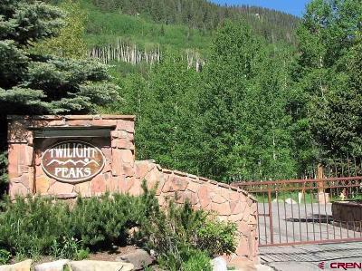 Durango Residential Lots & Land Back on Market: 87 Wild Rose