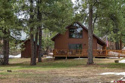 Pagosa Springs Single Family Home UC/Contingent/Call LB: 439 Cimarrona Circle