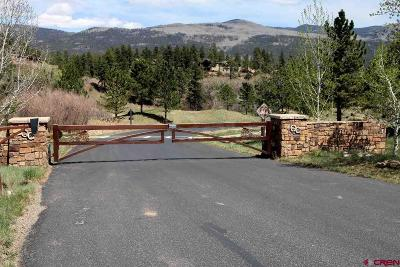 Durango Residential Lots & Land For Sale: 211 Cliffs Edge Drive