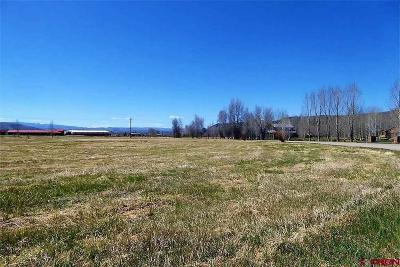 Gunnison Residential Lots & Land For Sale: Spring Meadows Trail
