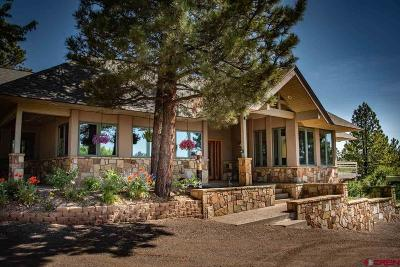 Pagosa Springs Single Family Home For Sale: 231 Crestview Dr.