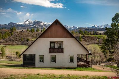Pagosa Springs Single Family Home For Sale: 12 Treasure Court