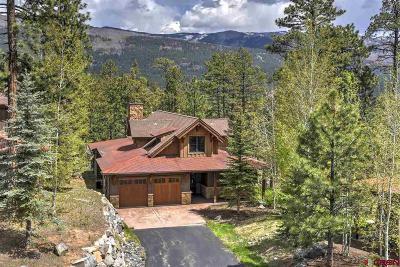 La Plata County Single Family Home For Sale: 1580 Glacier Club Drive #4
