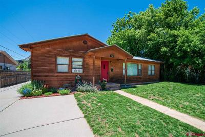 Durango Single Family Home For Sale: 2823 Junction Street