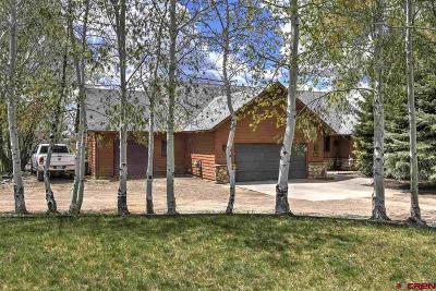 Durango Single Family Home For Sale: 186 Mesa Heights